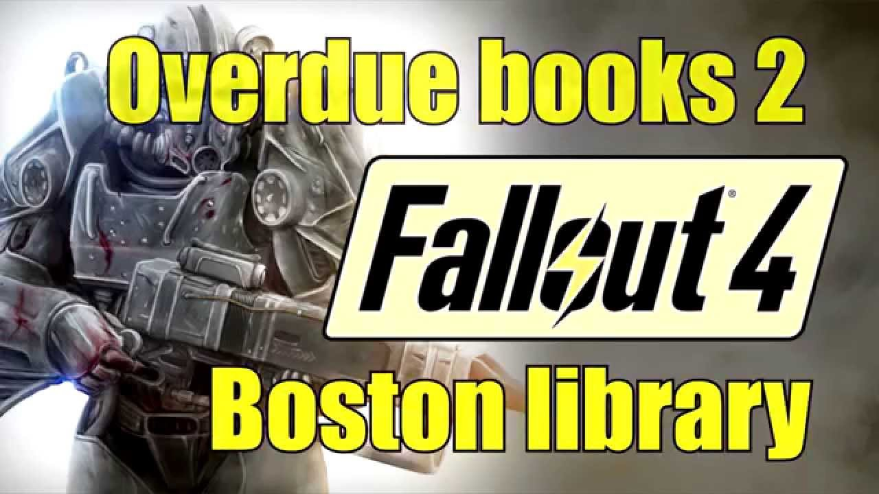 book return machine fallout 4