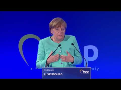 40 years of EPP - Angela Merkel, Chancellor of Germany