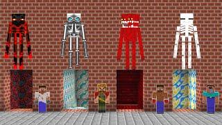 YANLIŞ KORKUNÇ ENDERMAN MAĞARASINI SEÇERSEN ÖLÜRSÜN! - 😱 - Minecraft