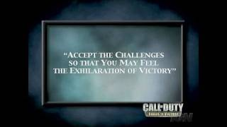 Call of Duty: Roads to Victory   Sony PSP Trailer -