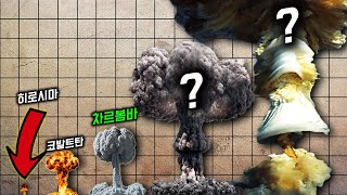 Gambar cover 인류 최강 핵폭탄 차르봄바는 애송이였다. 인간이만든 폭발 VS 자연 폭발력 크기top24![오지게 알고싶다]