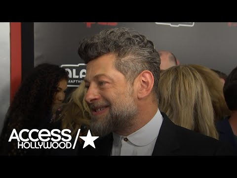 Andy Serkis On Hanging Out With Jennifer Lawrence & Amy Schumer | Access Hollywood