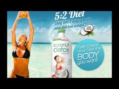 Coconut detox 750ml 2 day của úc giảm cân thanh lọc cơ thể giá tốt