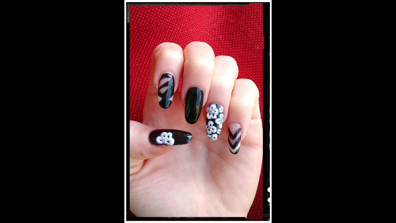 Semi Permanent Nails Polish Crystal Nails Model Cu Oja