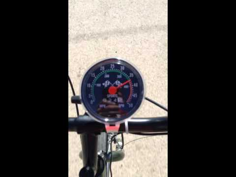 80cc Motorized bicycle top speed