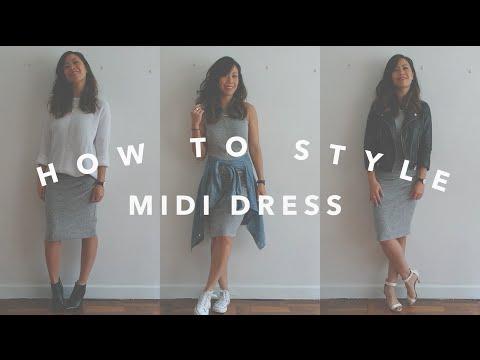 How To Style Midi Dress