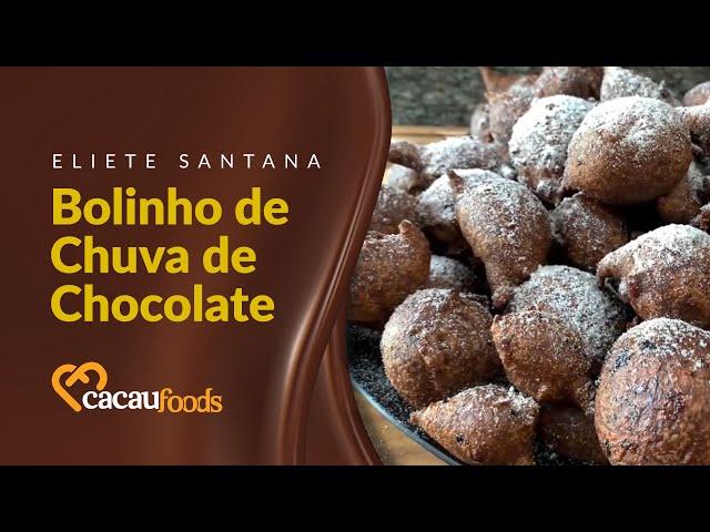 Bolinho de Chuva de Chocolate | Cacau Foods