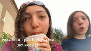 PREPARING FOR HOMECOMING VLOG *almost gets hit by bus*| Adriana V