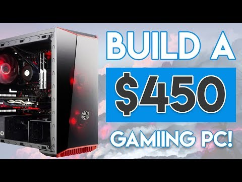 INSANE $450 GAMING PC BUILD 2018! [AMD Ryzen 2400G APU Build!]