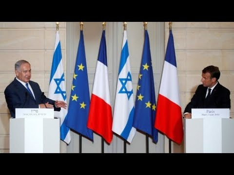 FULL: Netanyahu-Macron Press Conference on Iran and the JCPO