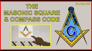 Masonic Square and Compass Decoded - Gorilla199