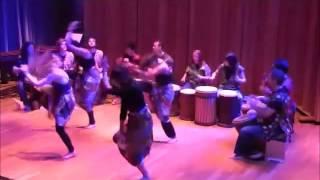 Ballante/Kuku/Zaoli djembe ensemble