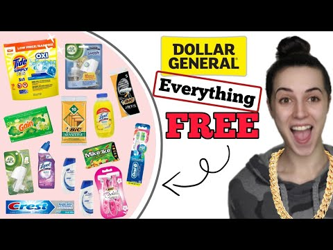 EVERYTHING FOR FREE! Dollar General $5/$25 Breakdown