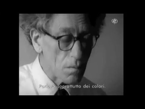 Giacometti dessine Stravinski