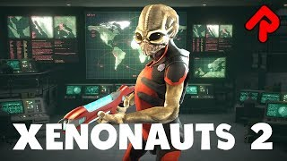 XENONAUTS 2 gameplay: Alien Combat Inspired by Original X-Com! (Alpha Demo)