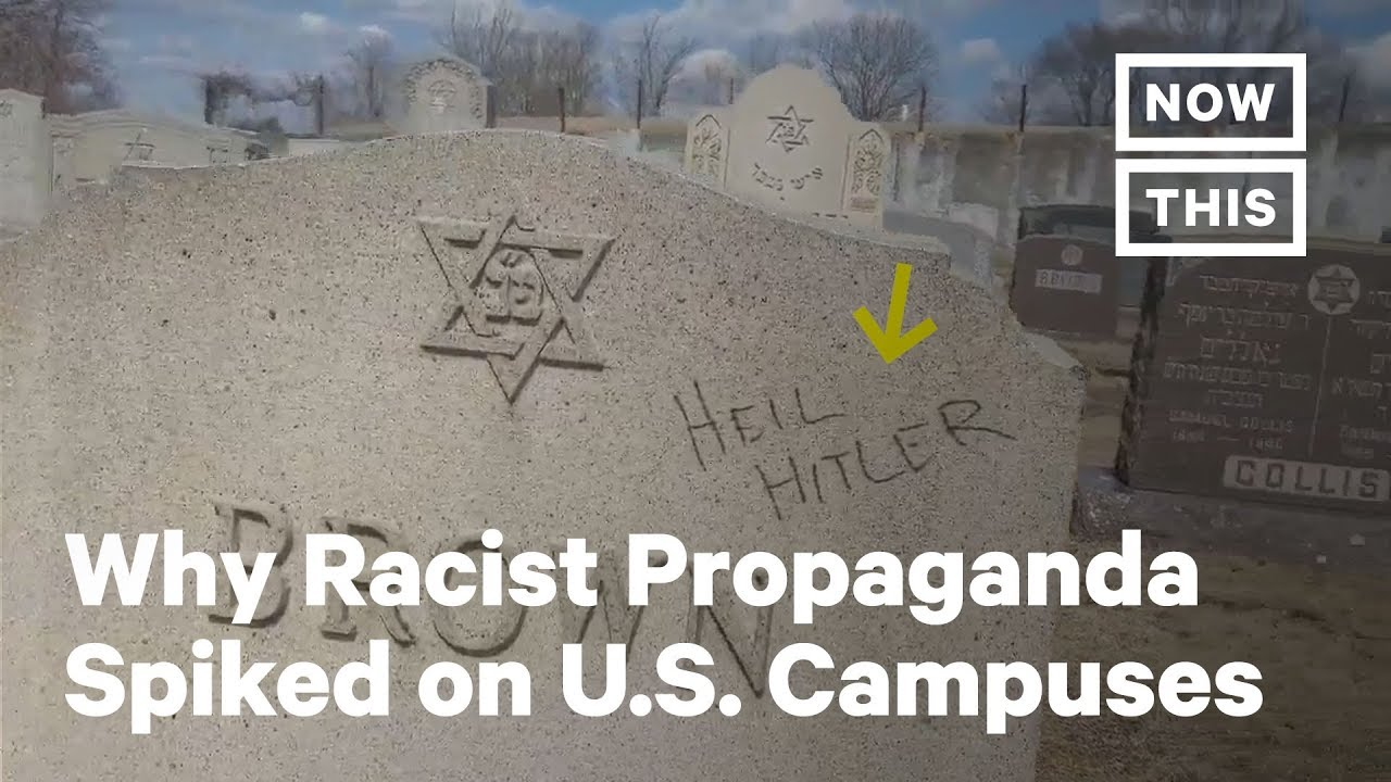 Why Racist, White Supremacist Propaganda Spiked Dramatically on U.S. Campuses Last Year | NowThis