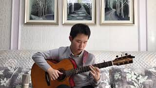 Let's Stay Together-Al Green-Solo Acoustic Guitar - Arranged by Jaco Liu