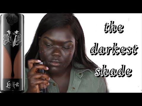 Kat Von D Lock-It Foundation Review || NYMA TANG #thedarkestshade