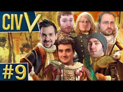 Civ V: Robot Wars #9 - Bold Claims