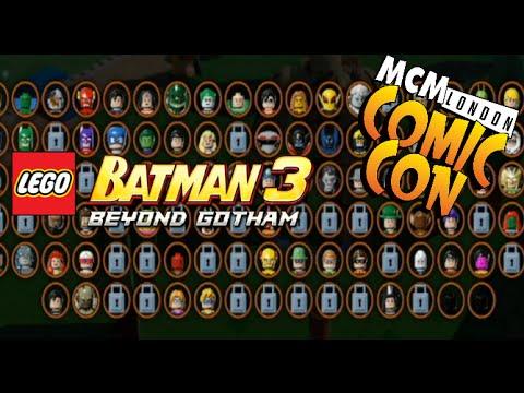 Lego Batman 3 Beyond Gotham Mcm London Comic Con