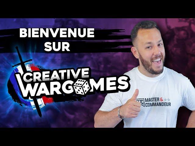 Bienvenue sur Creative Wargames - FAQ des 10000 abonnés, News V9 !