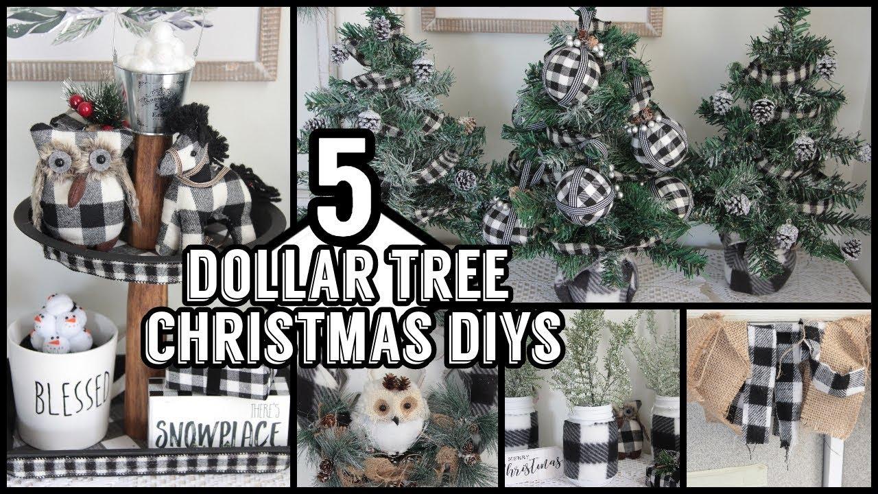 DOLLAR TREE CHRISTMAS DIYS 2019