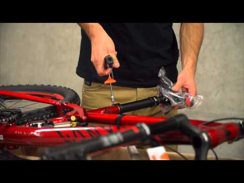 How to unbox and assemble your Canyon Mountain Bike