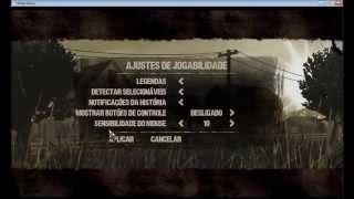 Tradução do jogo The Walking Dead PC - Ativar legendas