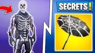 *NEW* Fortnite Season 6 Secrets! | Skull Trooper Return, Unseen Skins, Customization!