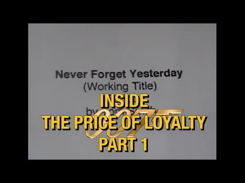 James Bond 007 Fan Film: Inside The Price of Loyalty Part 1