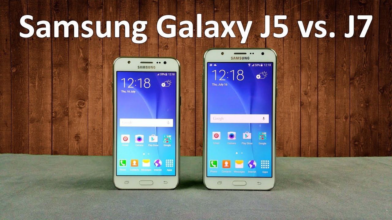 Samsung Galaxy J5 Vs  J7 Quick Comparison