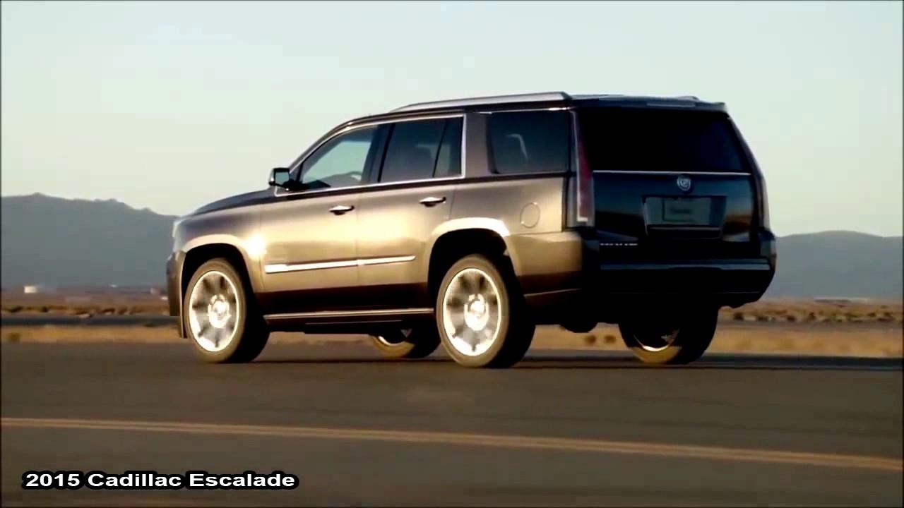 2015 Cadillac Escalade Vs 2015 Range Rover Sport Youtube