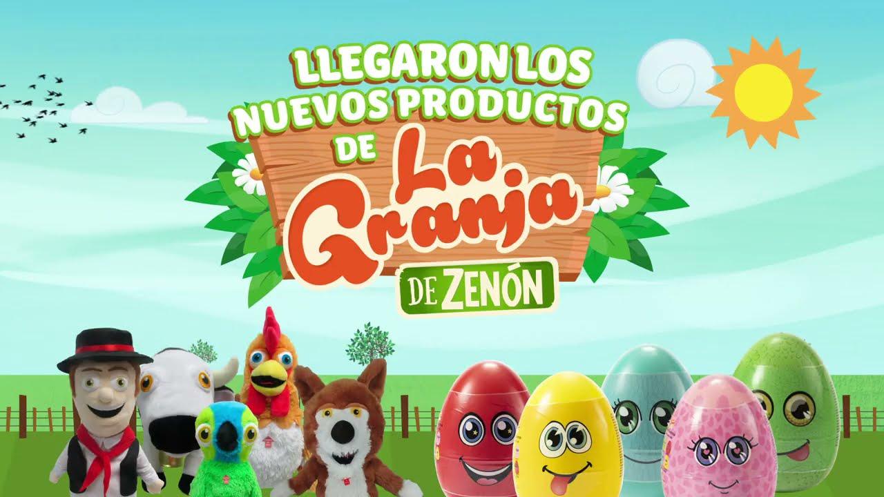 ¡ATENCIÓN ESPAÑA! Marionetas y Maxi Huevos Sorpresa de La Granja de Zenón