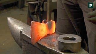 Раскрываем секреты кузнецов: изготовление плотницкого топора // FORUMHOUSE