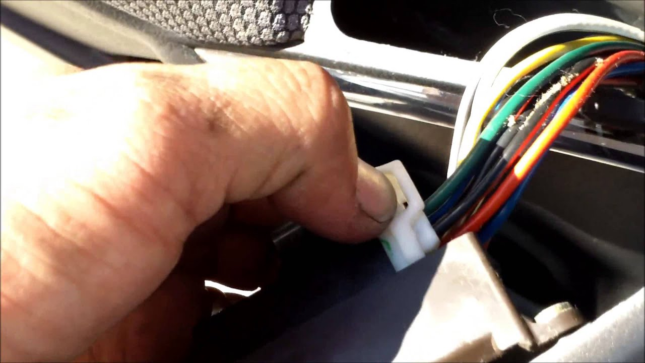 DIY How To Replace Install Door Panel Toyota Matrix √   YouTube