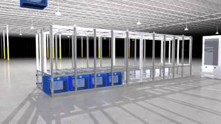 BASELAYER Modular Data Center Animation