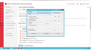 Configuring Active Directory in Worry-Free Services