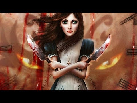 Alice Madness Returns All Cutscenes (Game Movie) 4K 60FPS UHD