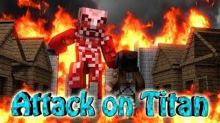 Minecraft | ATTACK ON TITAN MOD Showcase! (Titan, Attack on Titan, Colossal)
