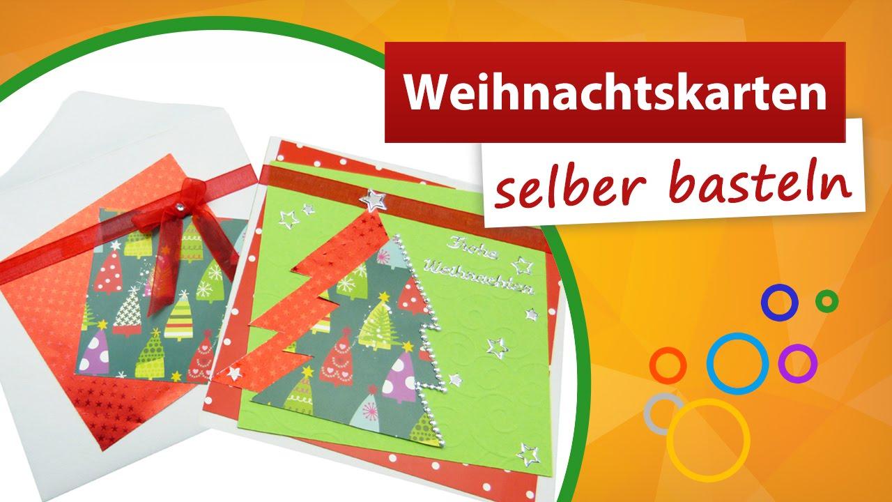 weihnachtskarten selber basteln weihnachtskarte gestalten trendmarkt24 youtube. Black Bedroom Furniture Sets. Home Design Ideas