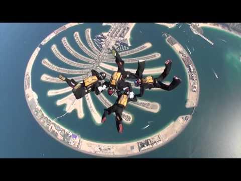 Hayabusa winning 2013 Dubai International Skydive Championship
