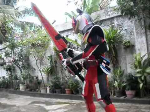 Kamen Rider Den-O Liner Form Cosplay.wmv