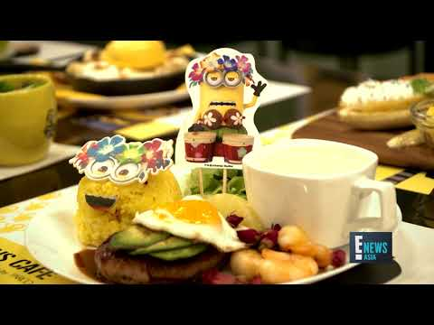 Minions Pop-Up Cafe in Singapore | Yvette King | E! News Asia
