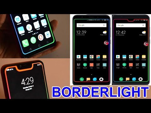 How To Make Your Android Screen Dashing | How To Set Border Light On Any Android | Borderlight App