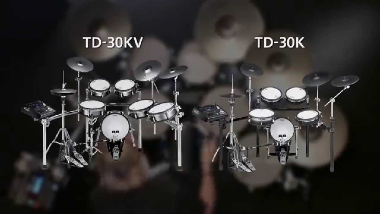 Td 30kv Td 30k V Drums V Pro Series Overview Youtube