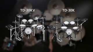 TD-30KV/TD-30K V-Drums V-Pro Series Overview