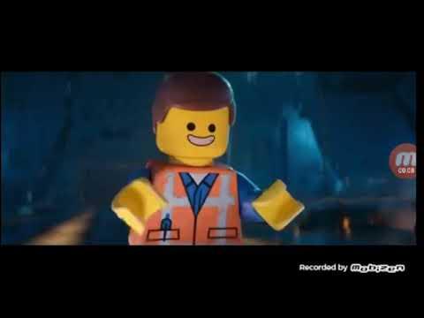 Эммит знакомится с Рексом. Лего фильм 2 (2019)