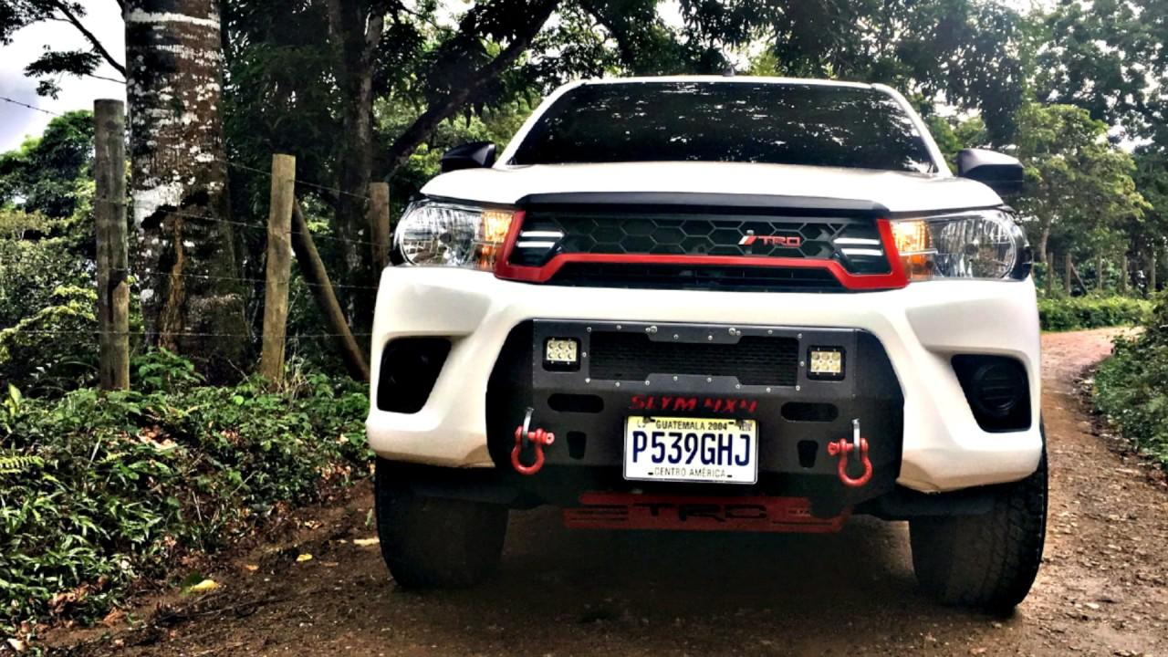 Toyota Hilux Trd Black Rhino Wheels