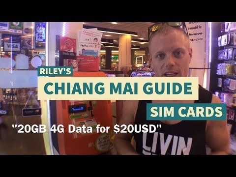 How to: SIM Cards in Thailand – Chiang Mai / Bangkok Tips & Tricks Travel Guide –What to Know