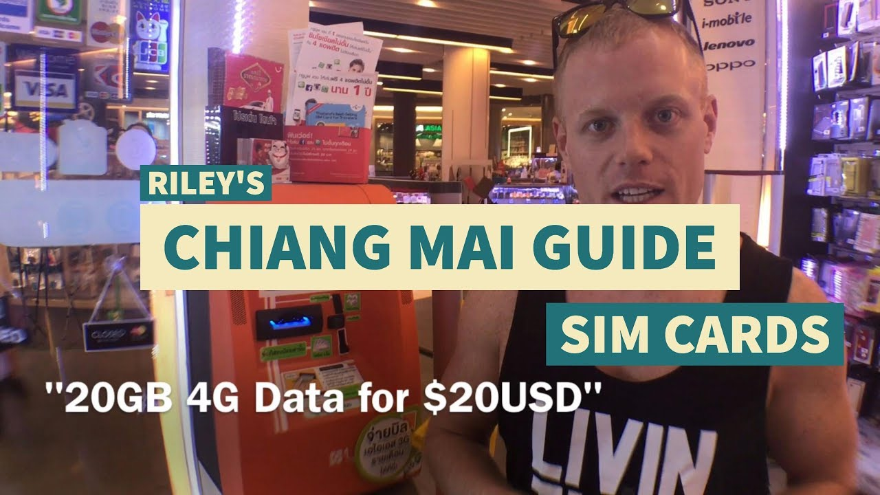 How to: 4G SIM Cards in Thailand – Chiang Mai / Bangkok Tips & Tricks Travel Guide –What to Kno